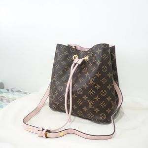 Louis Vuitton neonoe pink monogram